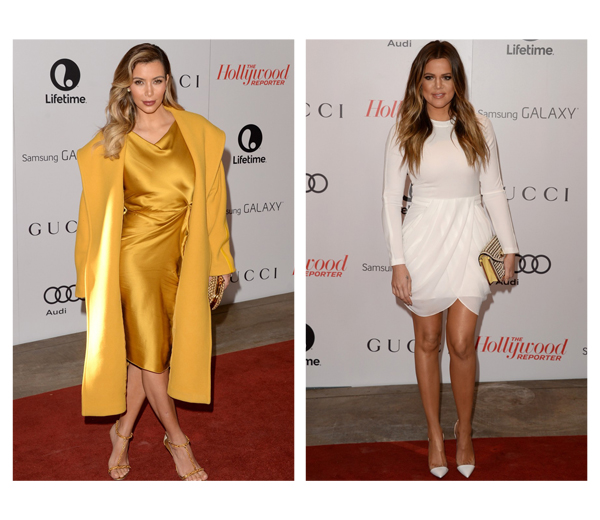 Kim versus Khloe Kardashian: wie is het best gekleed?