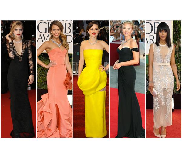 Top 10 rode loper jurken van 2013