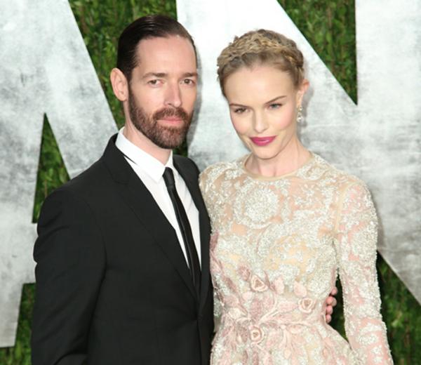 In beeld: de tweede bruidsjurk van Kate Bosworth