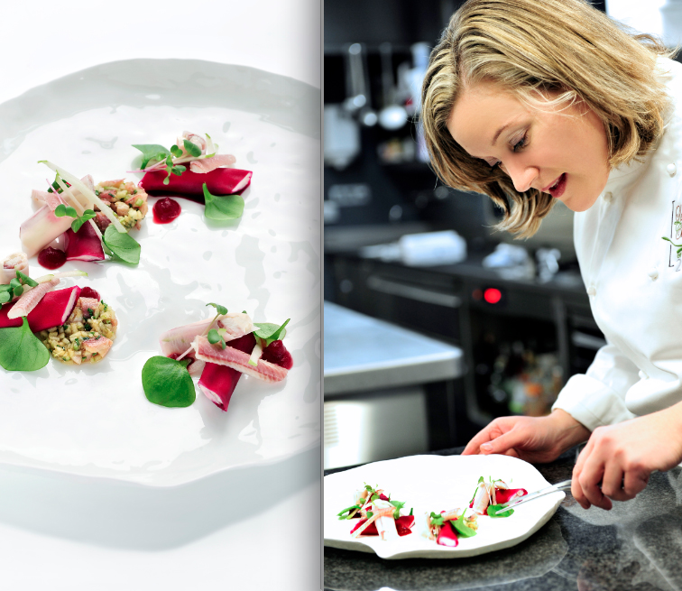 Stéphanie Thunus van 'Au gré du vent' is 'Lady Chef of The Year'