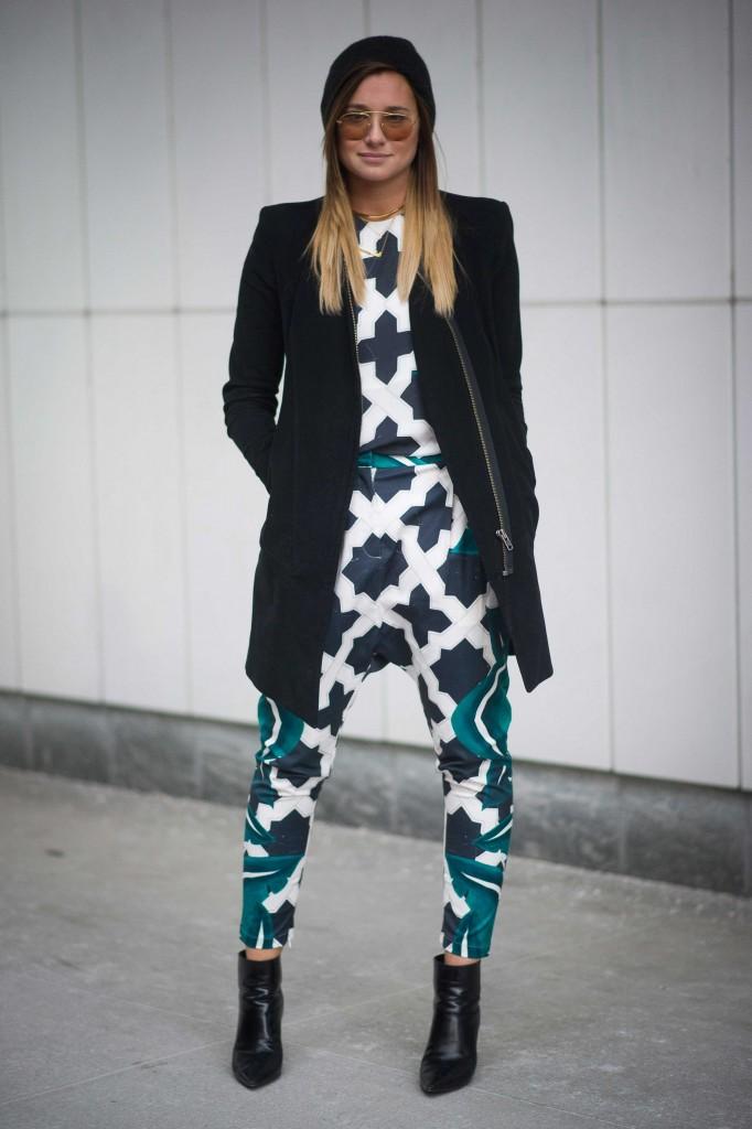 New York Fashion Week: streetstyle dag 7 - 16