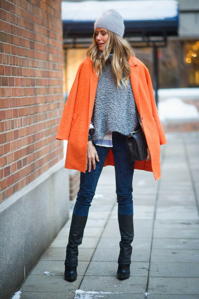 New York Fashion Week: streetstyle dag 7 - 17