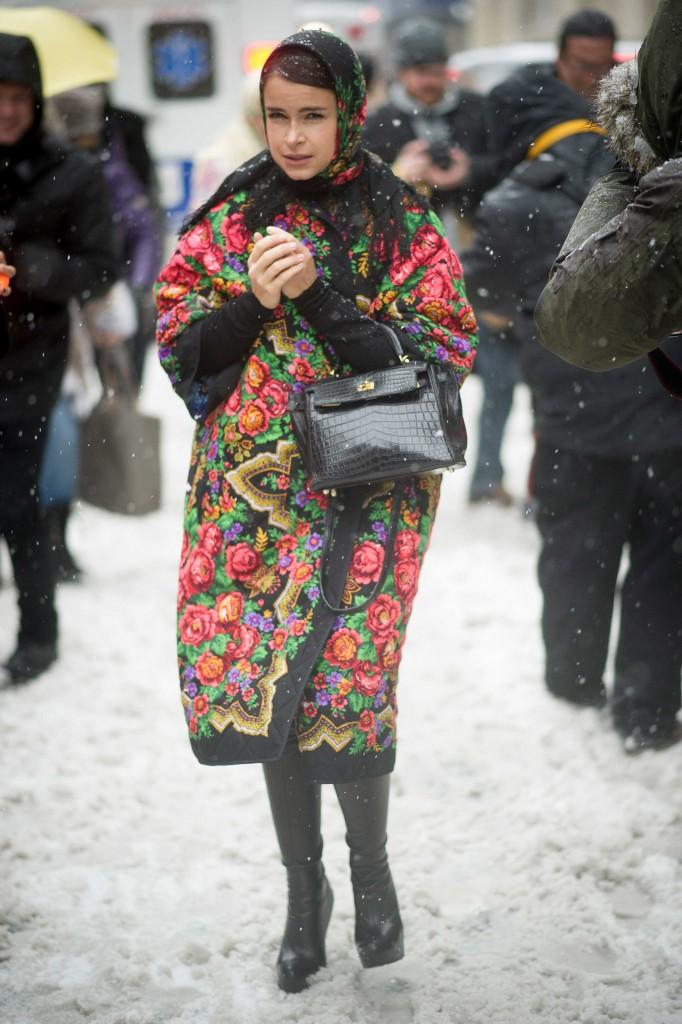New York Fashion Week: streetstyle dag 7 - 19