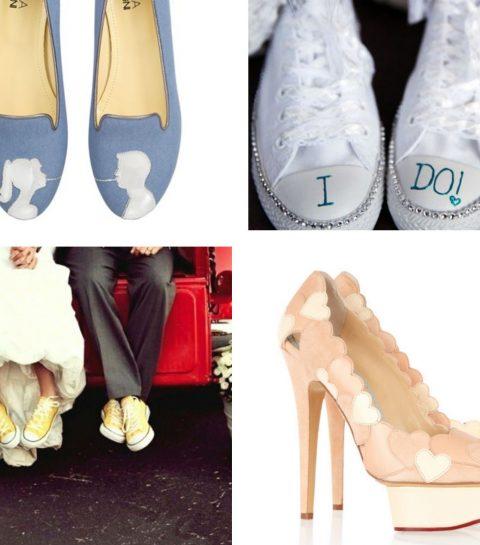 Shopping: 15 alternatieve bruidsschoenen
