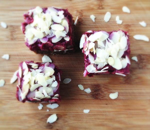 Raw Food: Frangipane met Frambozenconfituur