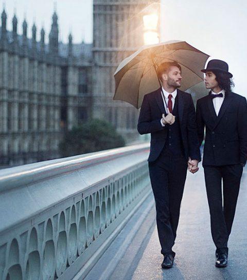Romantische foto's van holebi-koppels van over de hele wereld