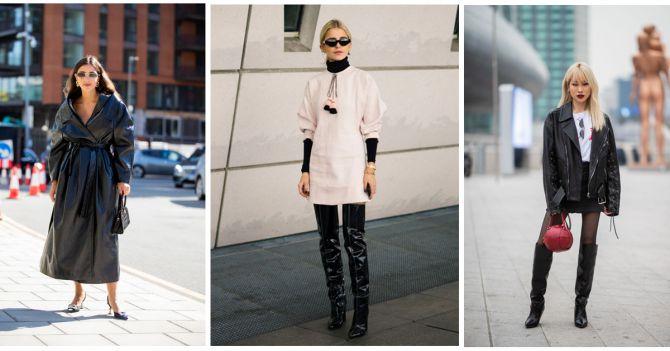 leder outfit winter stijltips