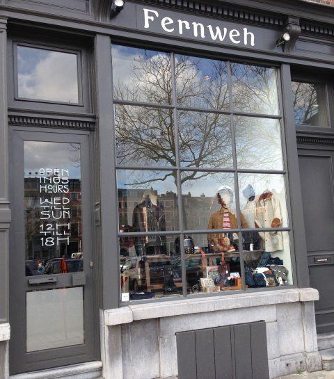 Shopping Antwerpen voor mannen: Fernweh