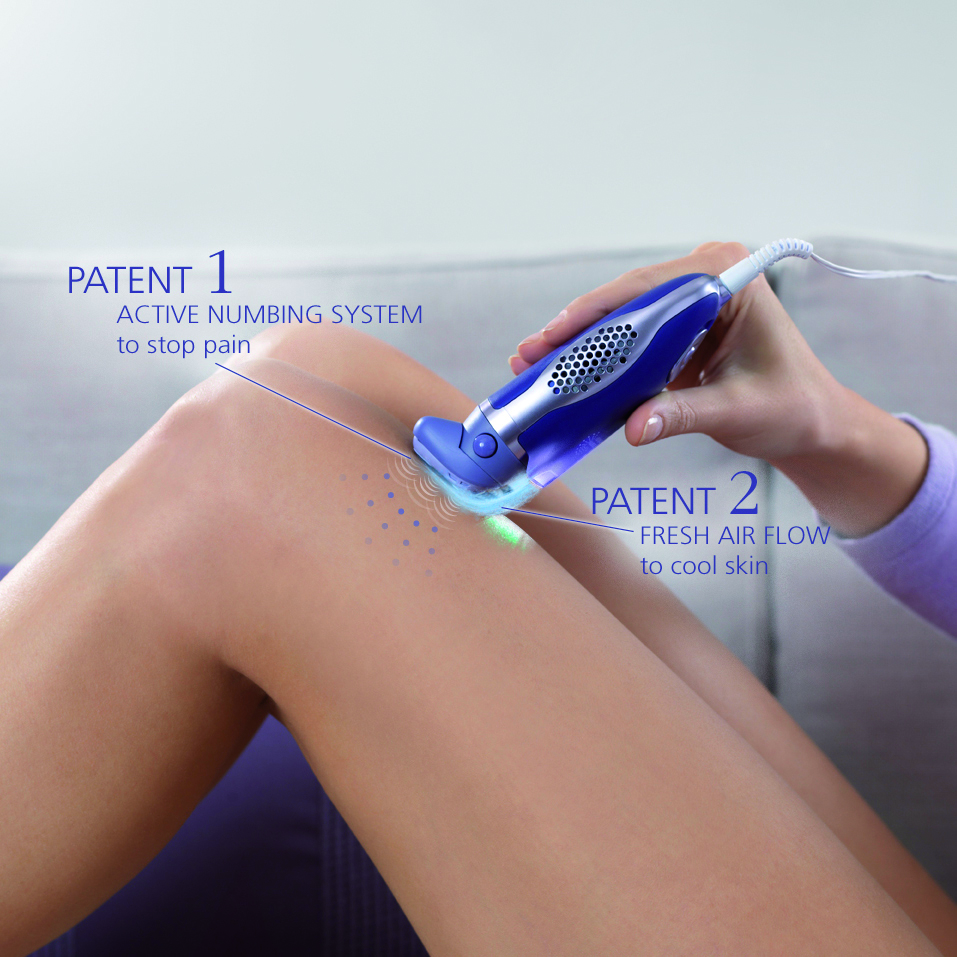 Calor Epilator Pain Free - Patent 1-2