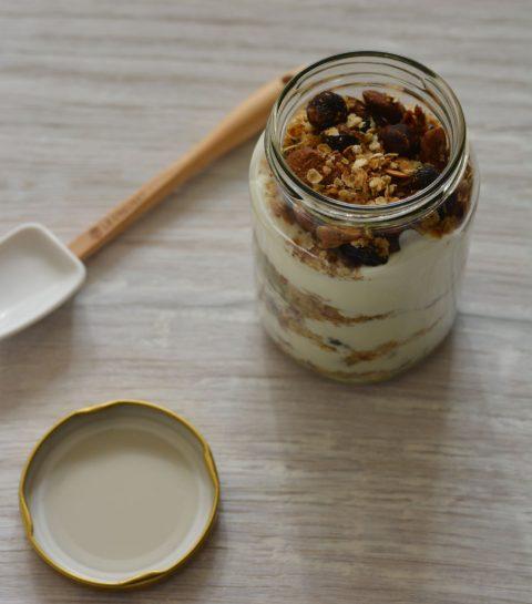 Gezond ontbijten met Granola