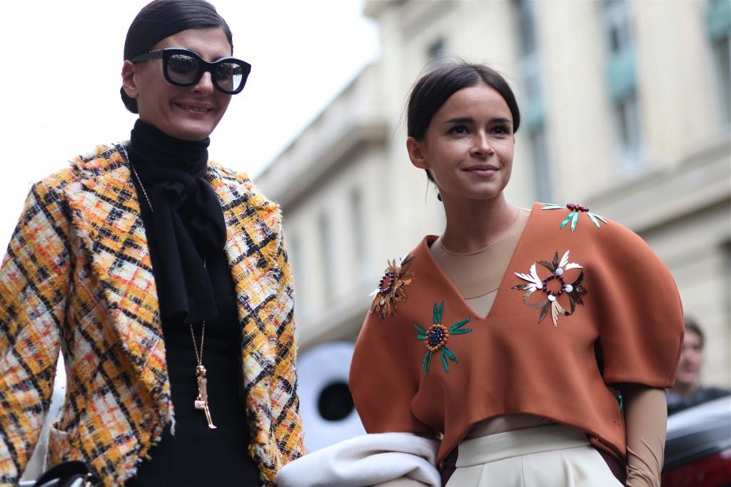 Giovanna Battaglia & Mira Duma