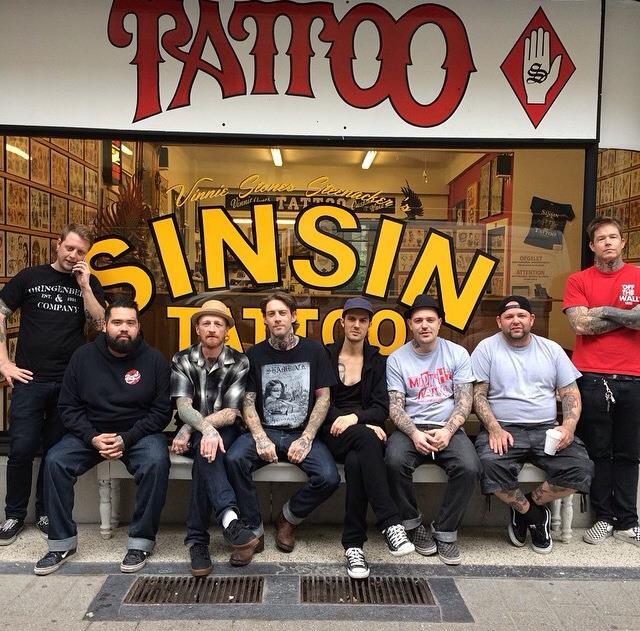 tattoo, tatoeage, antwerpen, shop, adres, sinsin tattoo