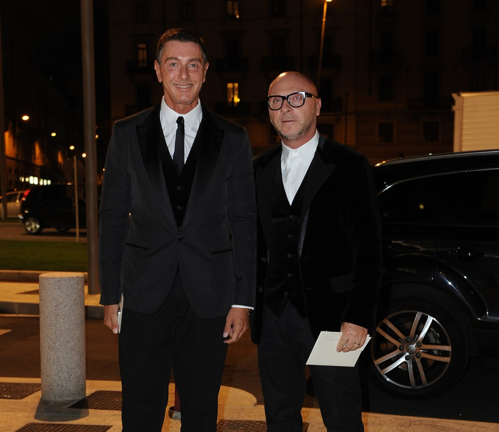 Dinner with Anna Wintour - Arrivals Milan Womens Fashion Week SS 2014 18-09-2013