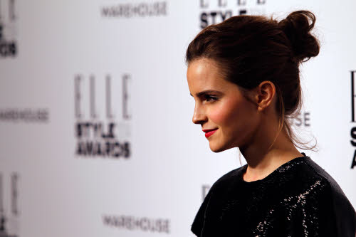 Emma Watson op de Elle Style Awards in Giambattista Valli