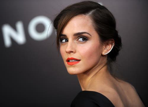 Emma Watson op de Amerikaanse première van 'Noah' in Oscar de la Renta