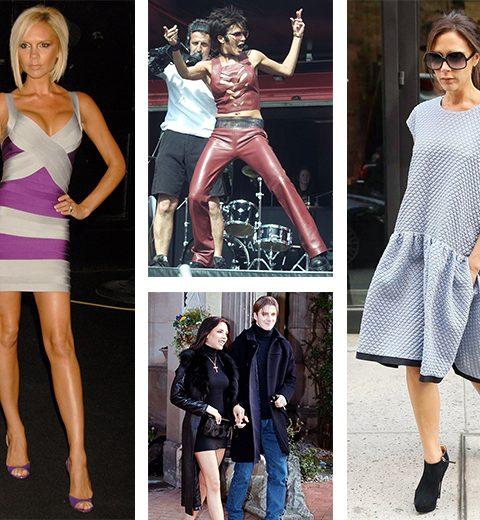 De stijlevolutie van Victoria Beckham in 40 beelden