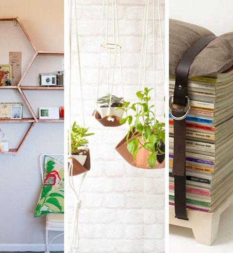 Vijf DIY-projecten voor een uniek interieur