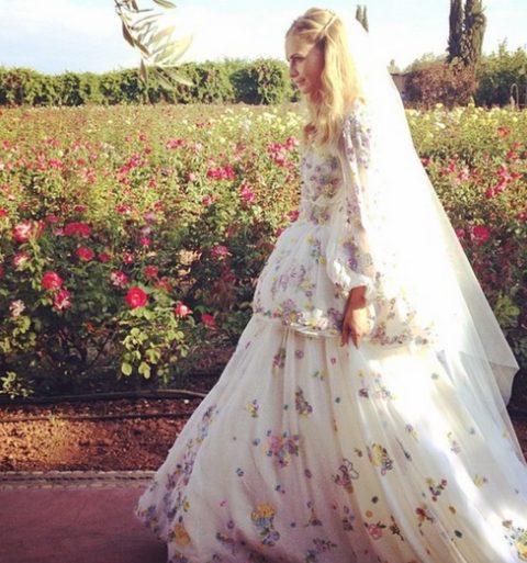 In beeld: Poppy Delevingnes Marokkaanse huwelijk