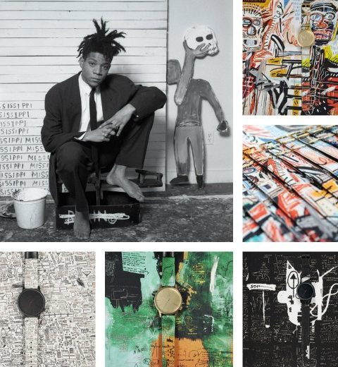 We love… Jean-Michel Basquiat voor Komono