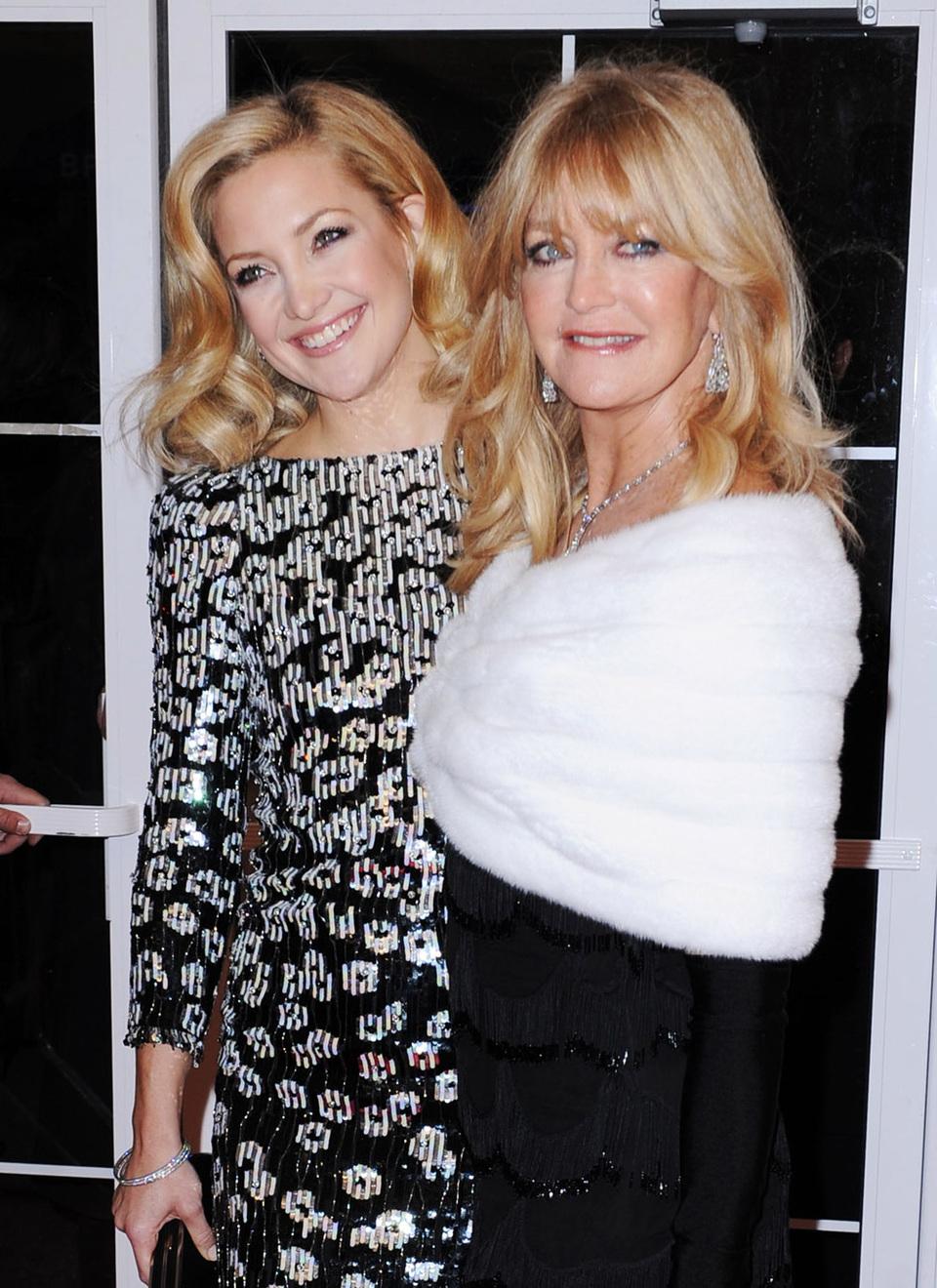 Kate Hudson en Goldie Hawn