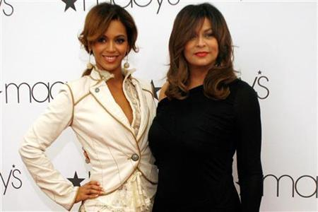 Beyonce en Tina Knowles