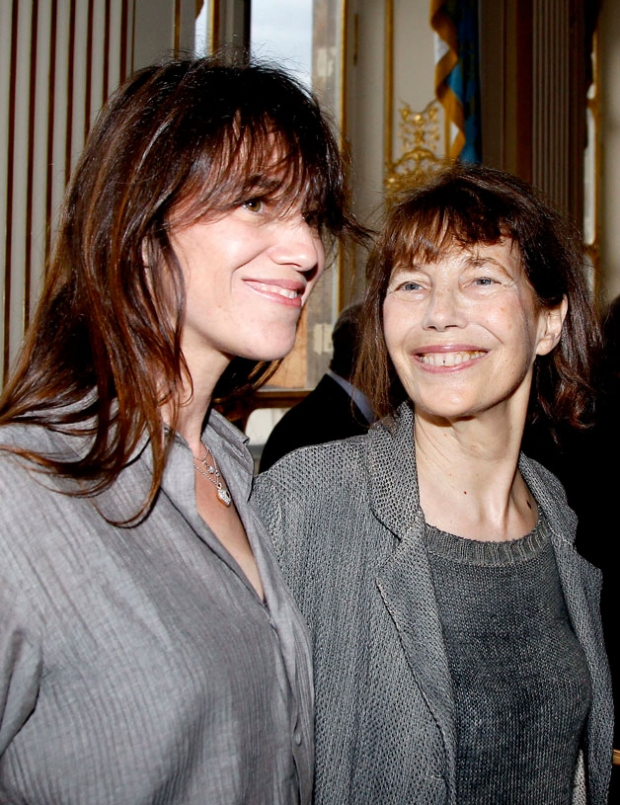 Charlotte Gainsbourg en Jane Birkin