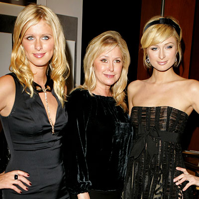 Nicky, Kathy en Paris Hilton