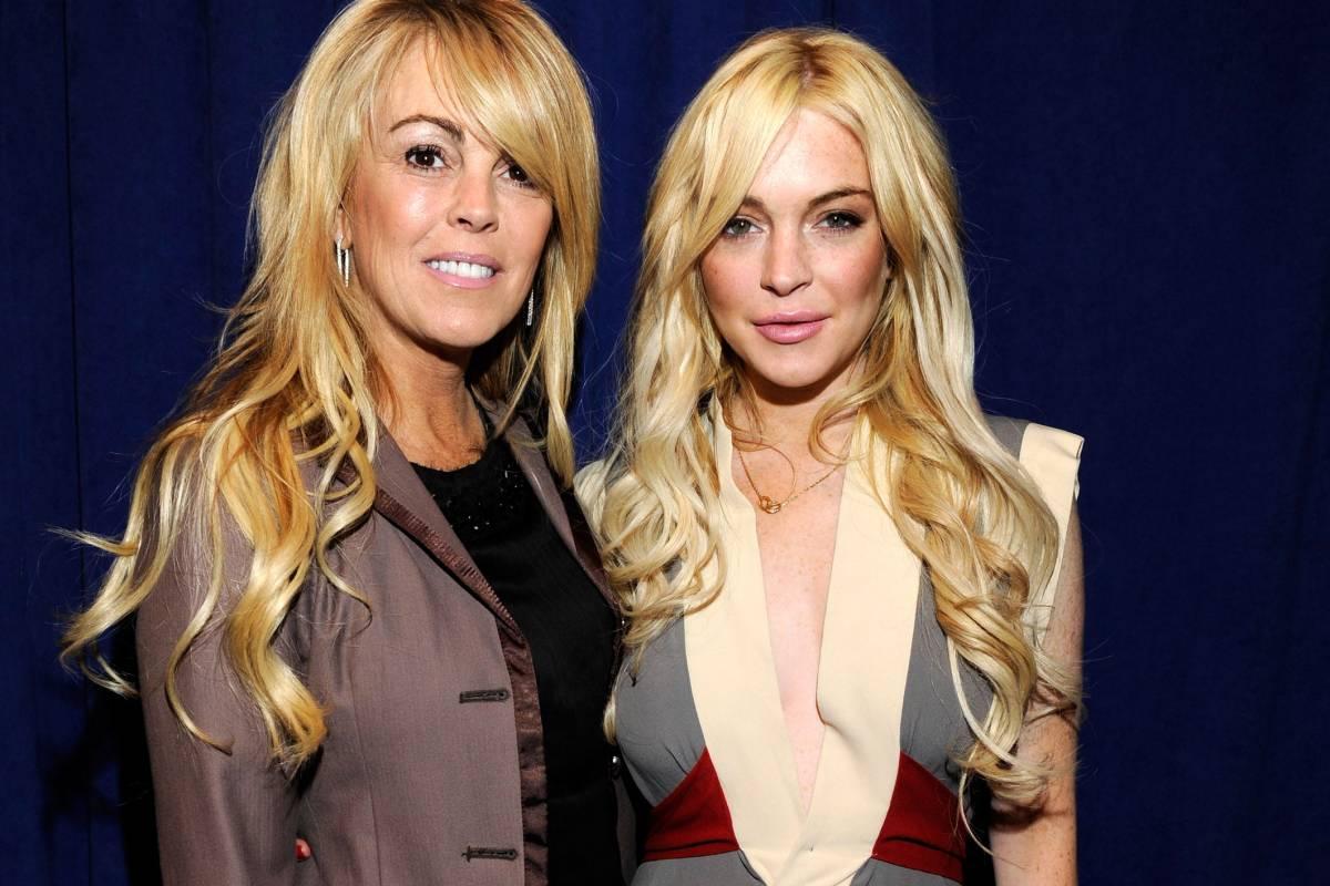 Dina en Lindsay Lohan