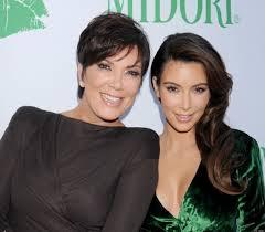 Kris Jenner en Kim Kardashian