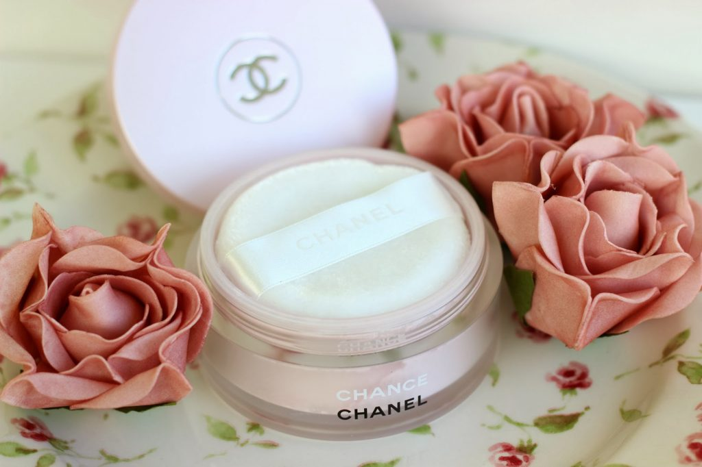 chance chanel shimmering powdered perfume
