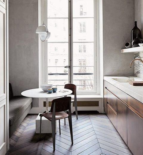 Binnenkijken. Klassiek minimalisme in hartje Parijs
