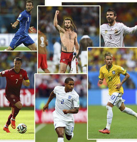 WK 2014: top 12 voetbal hunks