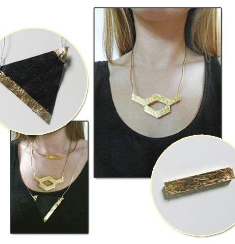 DIY: Bladgoud juwelen