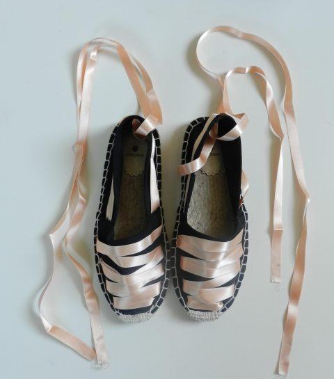 DIY: customized Ballerina-Espadrille