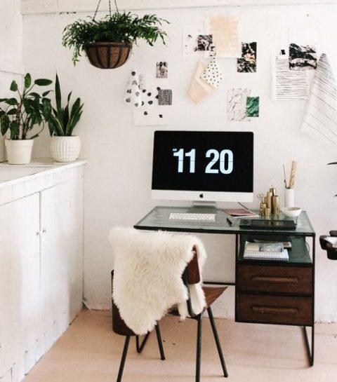 Pinspiration: Hoe richt je een bureau in?