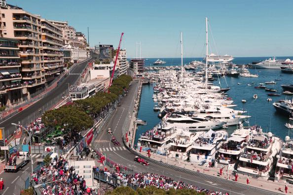 Celebrities Attend F1 Monaco Grand Prix