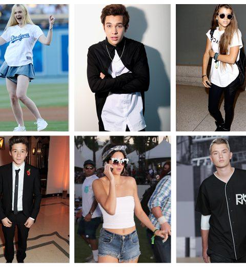 TOP 10: trendy tieners