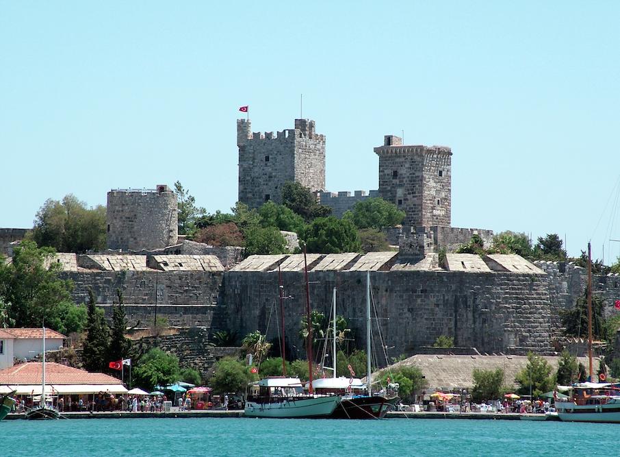 De baai van Bodrum
