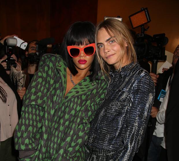 Stella Mccartney Cara Delevingne And Rihanna Fall Winter 2014/15 Ready To Wear Paris Fashion Week