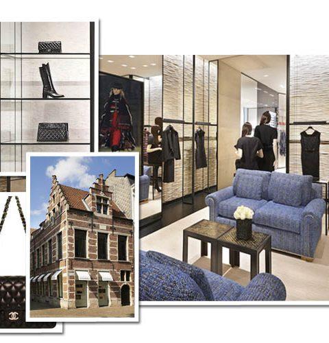 In beeld: Chanel opent winkel in Antwerpen