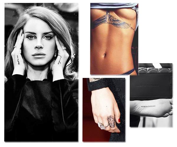 collage tattoos
