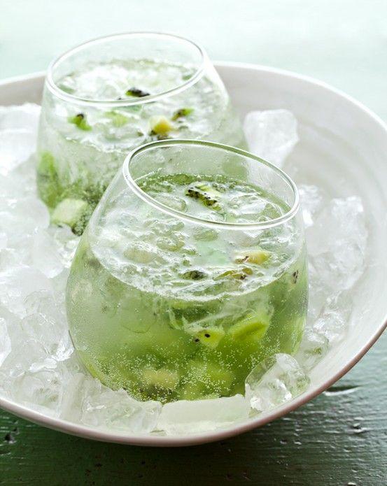kiwi-limonade spritzers