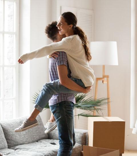 Met deze 5 slimme tips wordt samenwonen met je lief een eitje