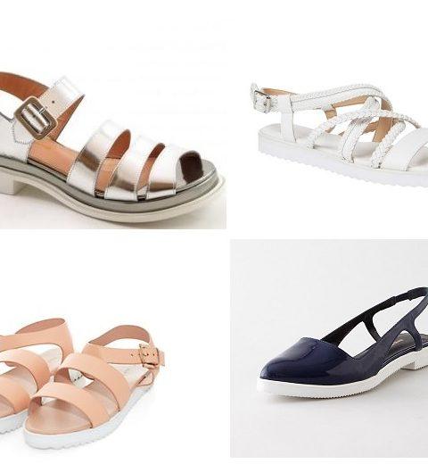Shopping: zomerse sandalen met witte zool