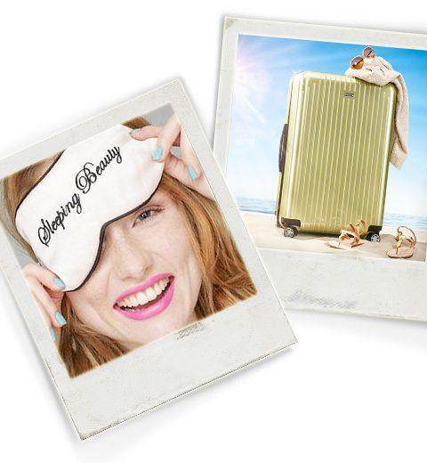 HOW TO: make-up meenemen op reis