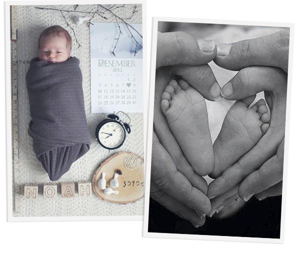 opening aankondiging geboorte