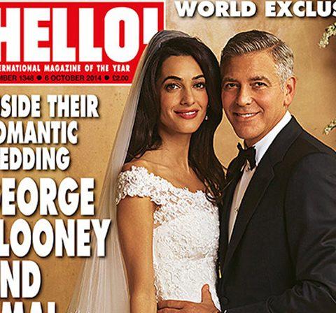 Eerste beelden: het huwelijk van George Clooney