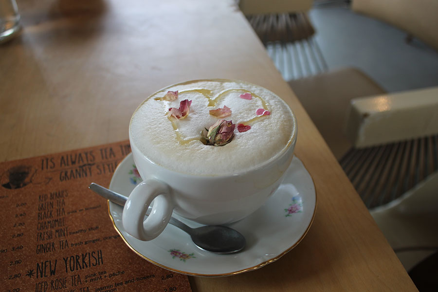 Alices Latte uit Maurice Coffeebar