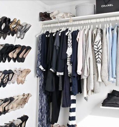 Kleine garderobes optimaal benutten