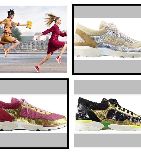 Hype van het moment: Chanel sneakers